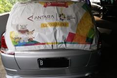 Kaca mobil belakang Honda Odyssey Absolute RB1